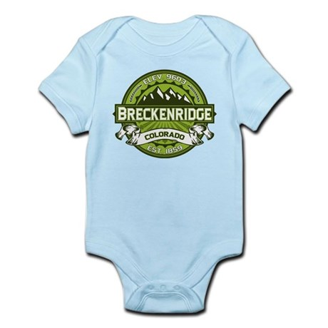 Breckenridge Green Infant Bodysuit
