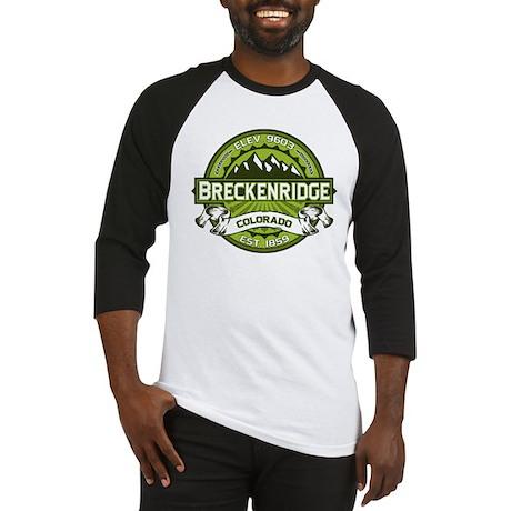 Breckenridge Green Baseball Jersey