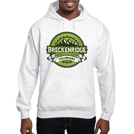 Breckenridge Green Hooded Sweatshirt