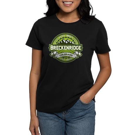 Breckenridge Green Women's Dark T-Shirt