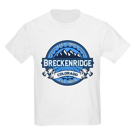 Breckenridge Blue Kids Light T-Shirt