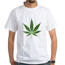 Pot Leaf T-Shirt (White)