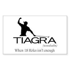 Tiagra: When 18 Holes Isn't Enough Decal