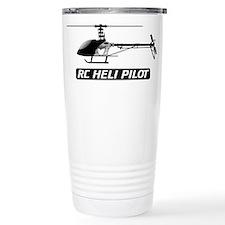 RC Heli Pilot Ceramic Travel Mug