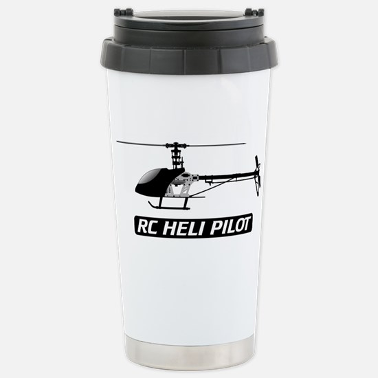 RC Heli Pilot Stainless Steel Travel Mug