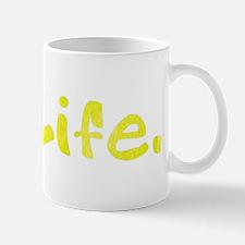 Tennis Ball = Life GrnBK Mug