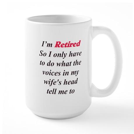 Wife's Voice Large Mug