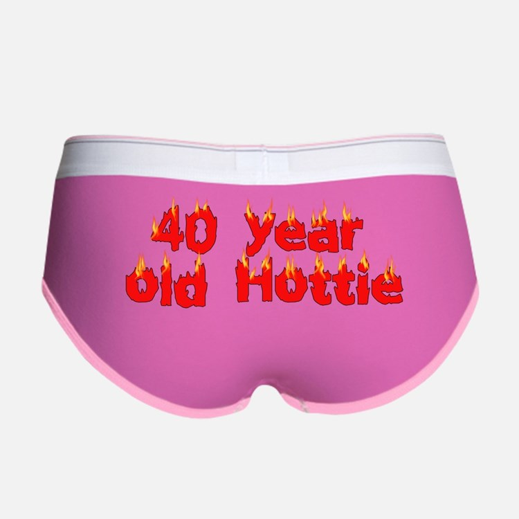 40th Birthday Women's Boy Brief