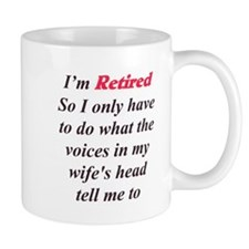 Wife's Voice Small Mugs