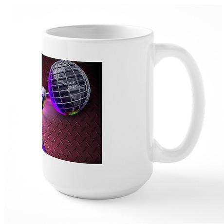 USA POWERLIFTING Large Mug