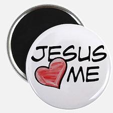 """Jesus Loves Me 2.25"""" Magnet (10 pack)"""