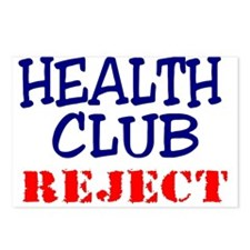 Health Club reject Postcards (Package of 8)