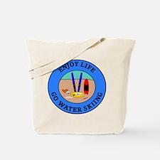 Enjoy Life Go Water Skiing Tote Bag