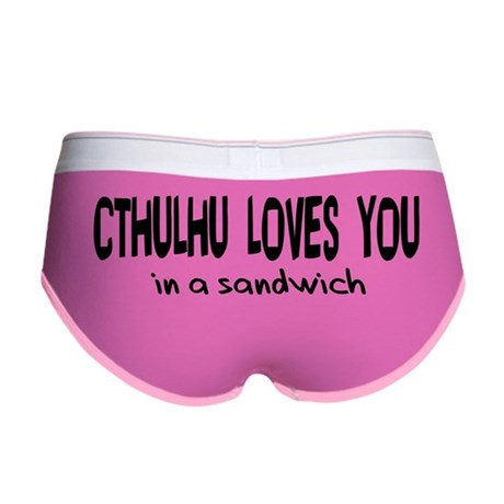 Cthulhu Loves You Women's Boy Brief