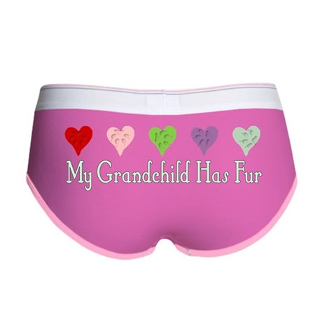 Furry Grandchild Women's Boy Brief