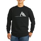 Skateboarding Long Sleeve T-shirts (Dark)