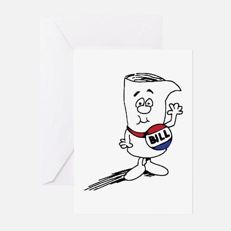 School House Rocks! Bill Greeting Cards (Pk of 10)