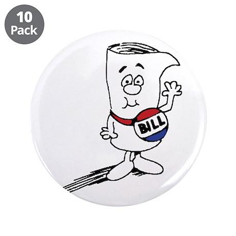 "School House Rocks! Bill 3.5"" Button (10 pack)"