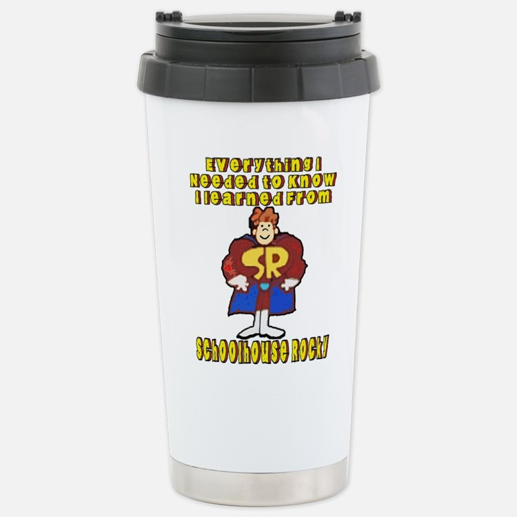 Schoolhouse Rocky Travel Mug