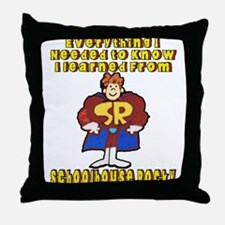 Schoolhouse Rocky Throw Pillow