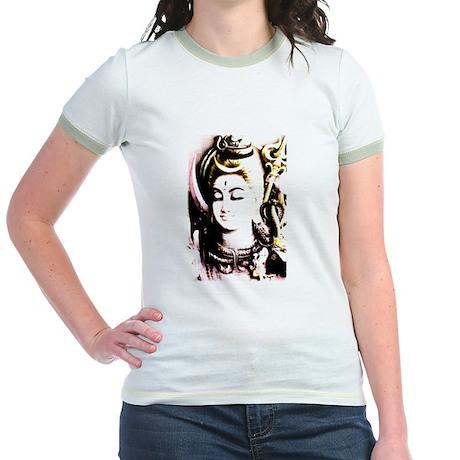 Shiva (For Women) Jr. Ringer T-Shirt