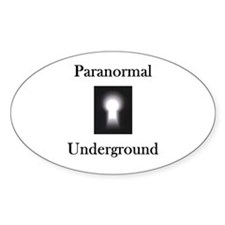 Paranormal Underground Oval Decal
