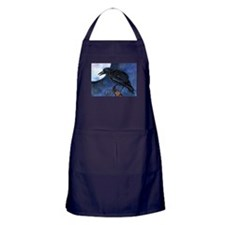 Celtic Wolf Greenman Apron (dark)