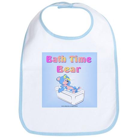 Bath Time Bear Bib