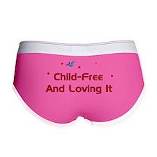 Child-Free Loving It Women's Boy Brief
