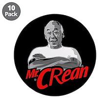 """Mr Crean Shirt 3.5"""" Button (10 pack)"""