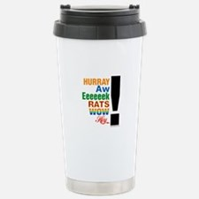 Interjections! Travel Mug