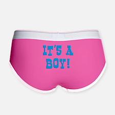 It's A Boy Women's Boy Brief