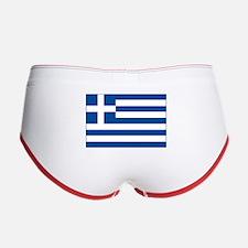 Greek Flag Women's Boy Brief