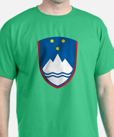 Slovenia Coat of Arms (Front) T-Shirt