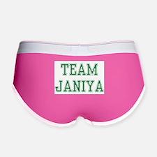 TEAM JANIYA Women's Boy Brief