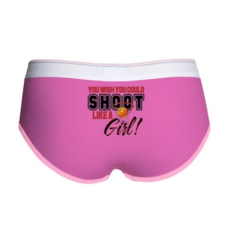 Basketball - Shoot Like a Girl Women's Boy Brief
