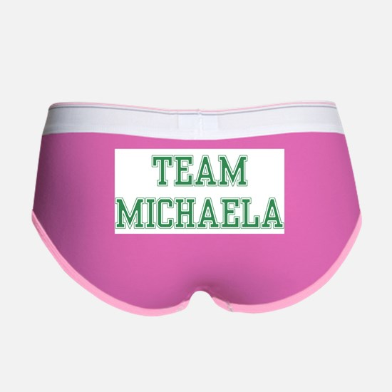 TEAM MICHAELA Women's Boy Brief