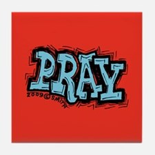 Pray Tile Coaster