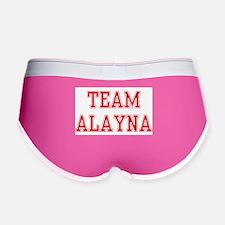 TEAM ALAYNA Women's Boy Brief