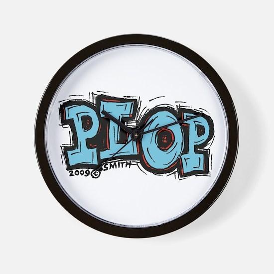 Plop Wall Clock