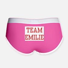 TEAM EMILIE Women's Boy Brief
