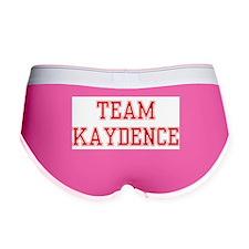 TEAM KAYDENCE Women's Boy Brief