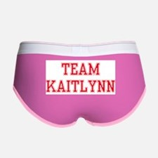 TEAM KAITLYNN Women's Boy Brief