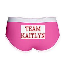 TEAM KAITLYN Women's Boy Brief