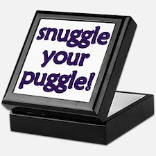 Snuggle Your Puggle Keepsake Box