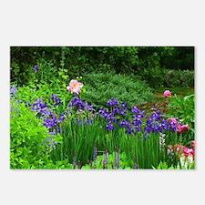 Iris & Peony Postcards (Package of 8)