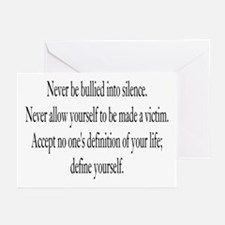 Define Yourself Greeting Cards (Pk of 10)