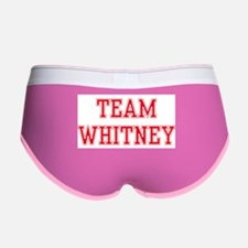 TEAM WHITNEY Women's Boy Brief
