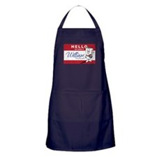 School HOuse Rocks! Hello my Apron (dark)