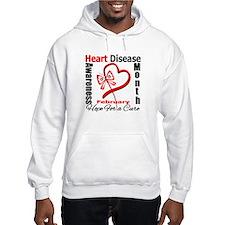 Heart Disease Month Hoodie